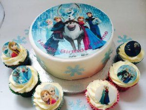 MINIONS PERSONALISED HAPPY BIRTHDAY BLUE 7.5 INCH PRECUT EDIBLE CAKE TOPPER
