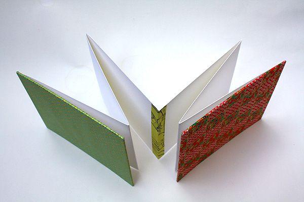 Accordion Concertina Book Japanese Washi Paper Book Binding Diy Handmade Books Book Art Projects