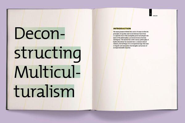 Deconstruct/Reconstruct Publication on Behance