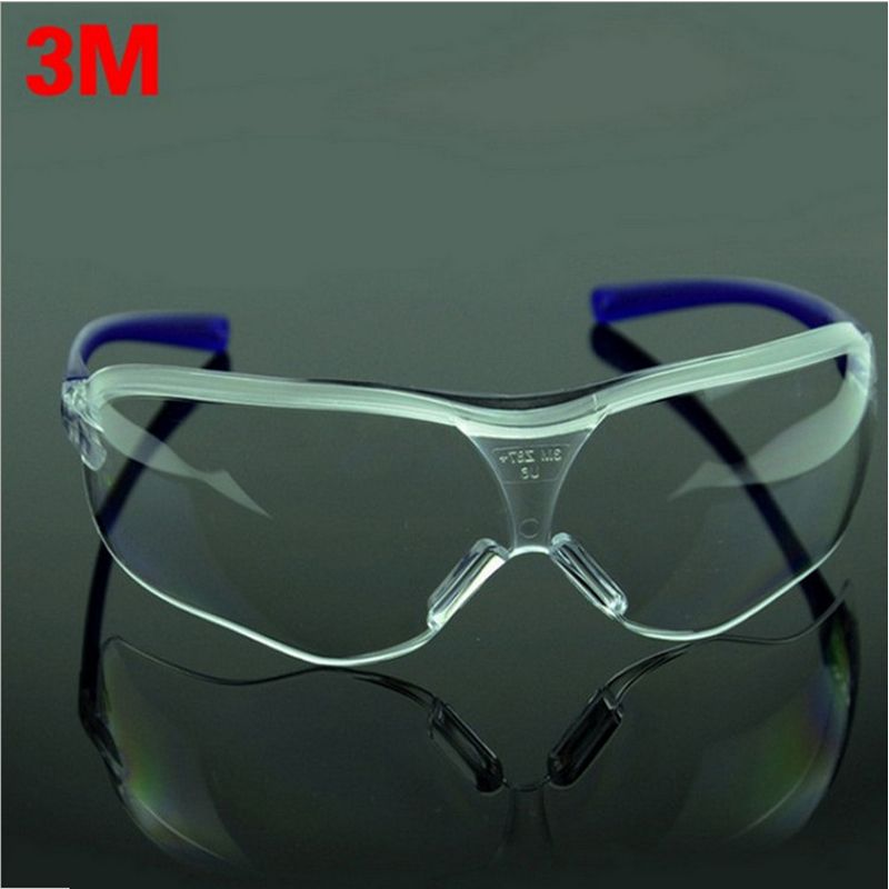Safety Goggles 3 Color M Safety Glasses Goggles Anti-fog Antisand Windproof Anti Dust Resistant Transparent Glasses Protective Working Eyewear