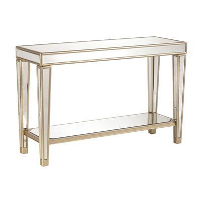 Fantastic Boston Loft Furnishings Sofa Table Atg3218 Munsley Mirrored Inzonedesignstudio Interior Chair Design Inzonedesignstudiocom