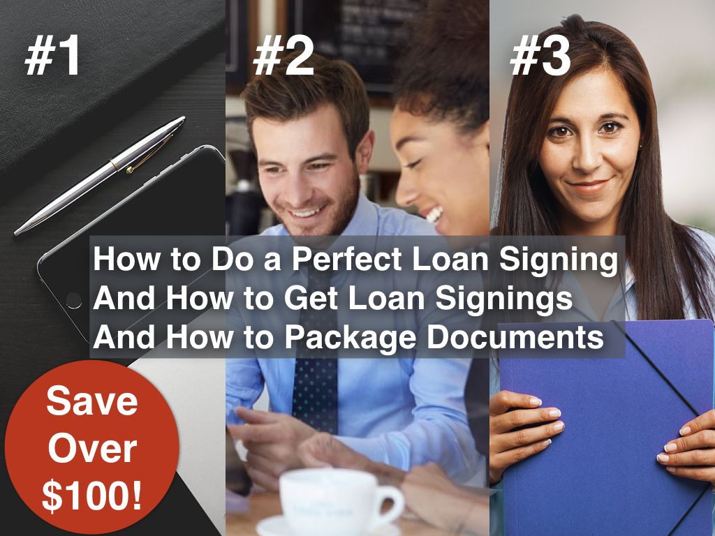 Learn how to a notary public loan signing agent
