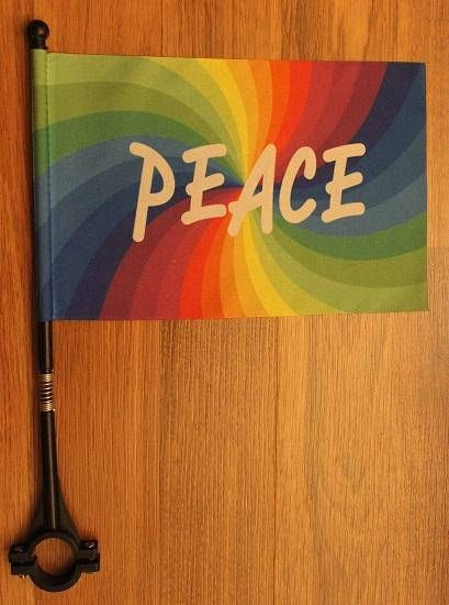 American Flag**Eagles**Peace Rainbow***Bicycle Flag for
