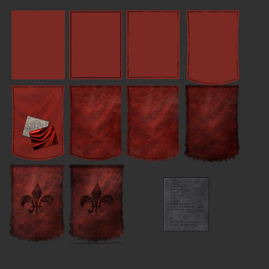 Cloth example or tut by Genadinio on DeviantArt