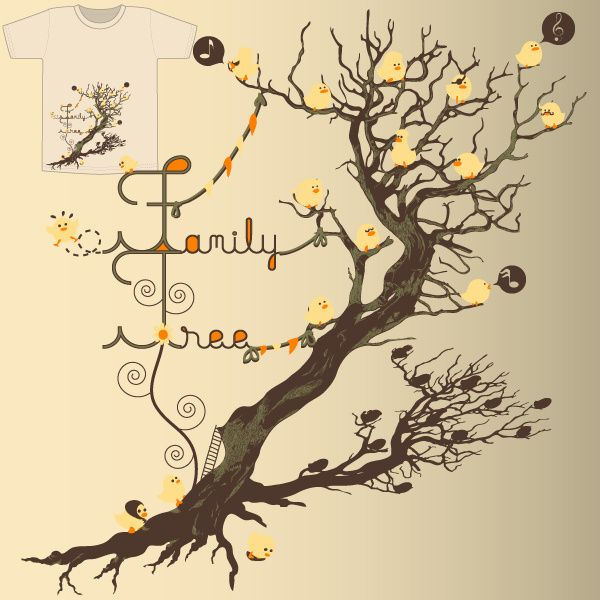 Cool Family Tree Ideas | BeHomeDesigning | Genealogy Ideas ...