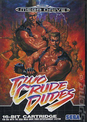 Sega Genesis Two Crude Dudes Sega Genesis Art Sega