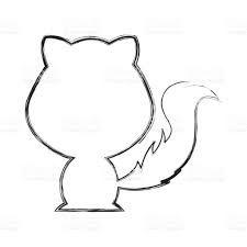 Afbeeldingsresultaat voor silhouette fox