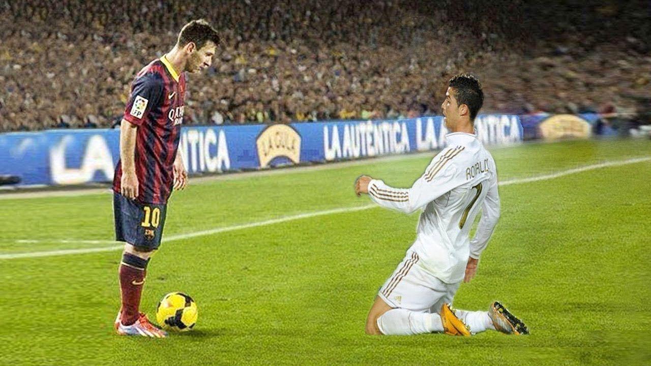 5 Times Cristiano Ronaldo Humiliated Lionel Messi Lionel Messi Messi Vs Messi Vs Ronaldo
