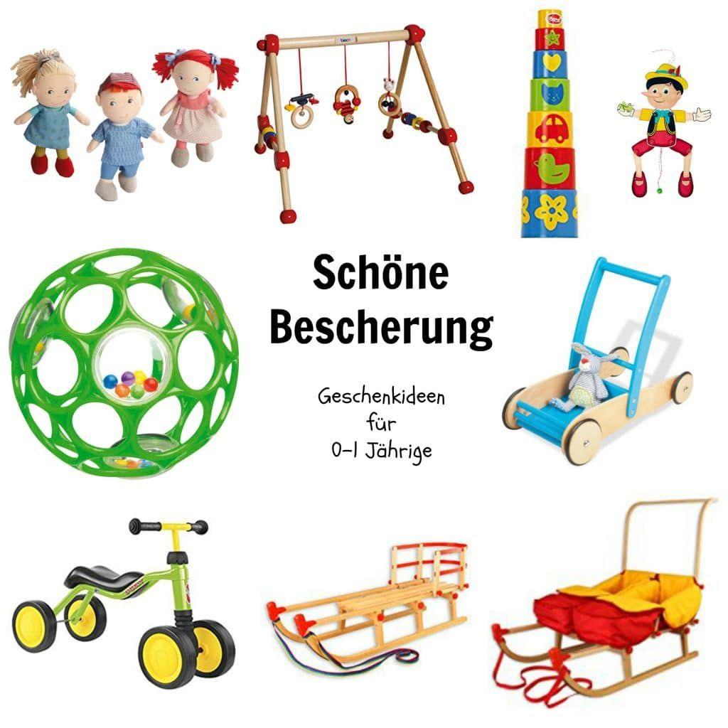 Schöne Bescherung: Geschenkideen für 1 bis 2 Jährige