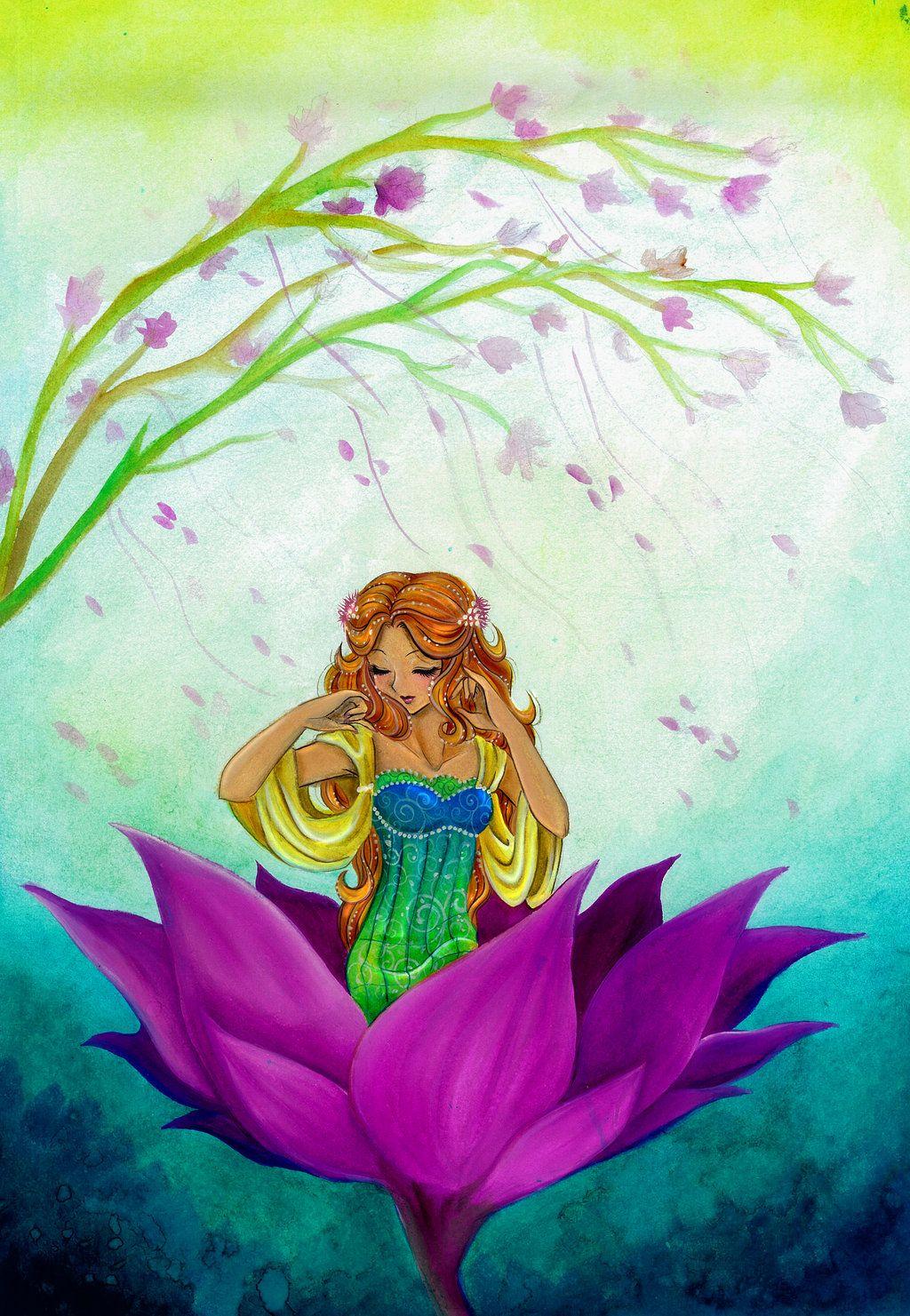 Thumbelina by Bloodhaunt on deviantART | Fairytale art ...
