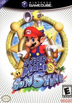 Super Mario Sunshine Pal Español Ngc Juegos De Wii Juegos Retro Videojuegos Retro