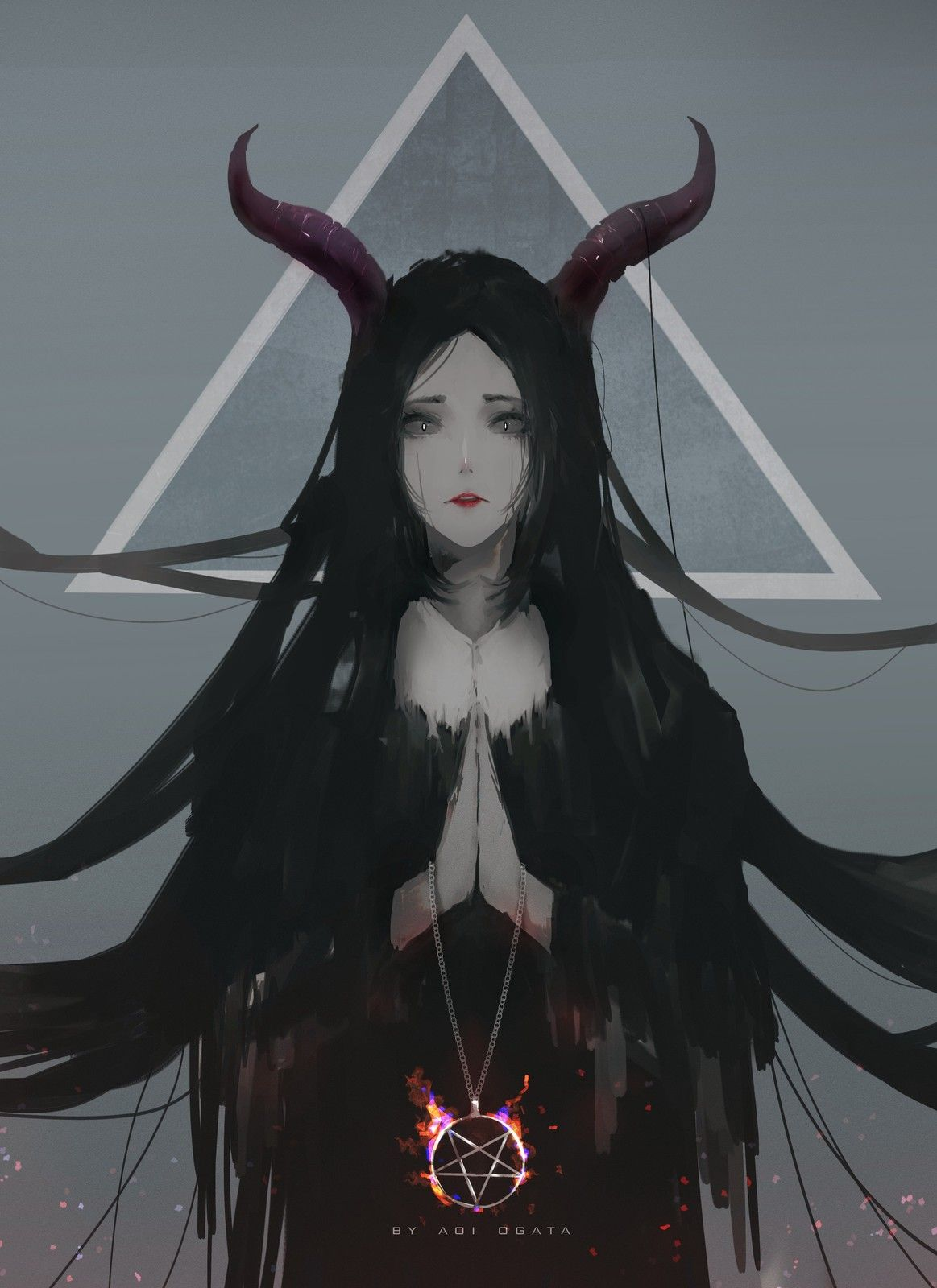 Pin by arsalan ahmad on fantasy anime art anime fantasy - Dark anime girl pics ...