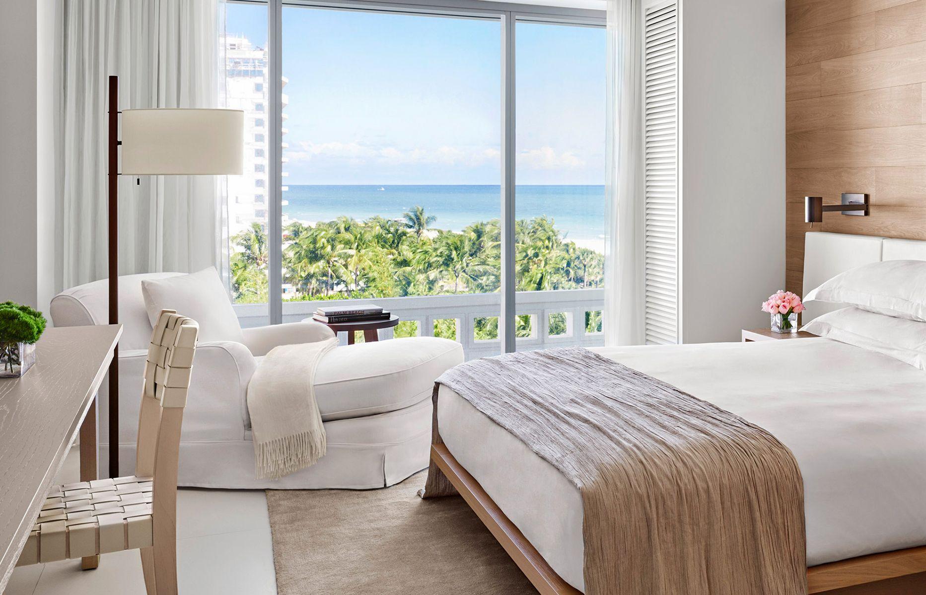 Ocean View Room. The Miami Beach EDITION, USA. © EDITION