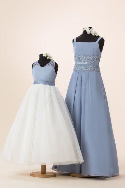 Wedding Dresses & Bridesmaids | True Bride | C932 & C931 | short and ...