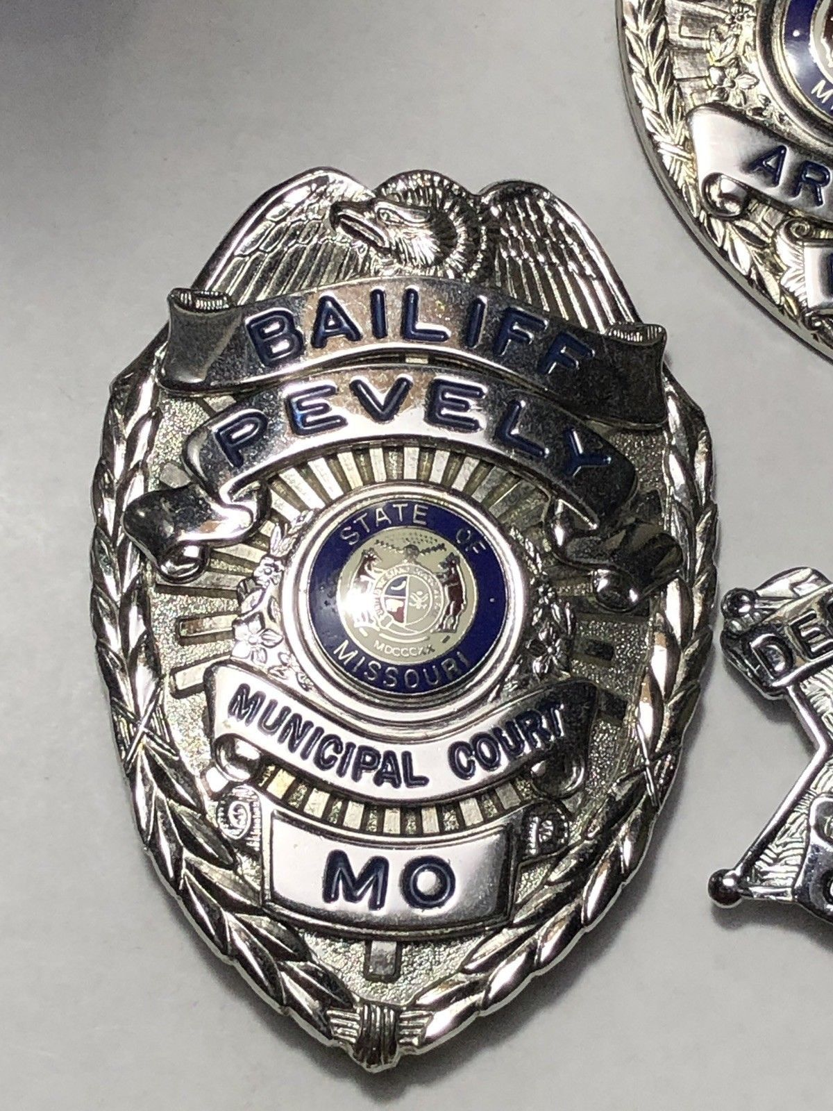 Bailiff, Pevely Municipal Court, State of Missouri (Blackinton