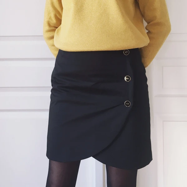 Tuto Couture Hack De La Jupe Portefeuille Sezane Patron Couture Diy Couture