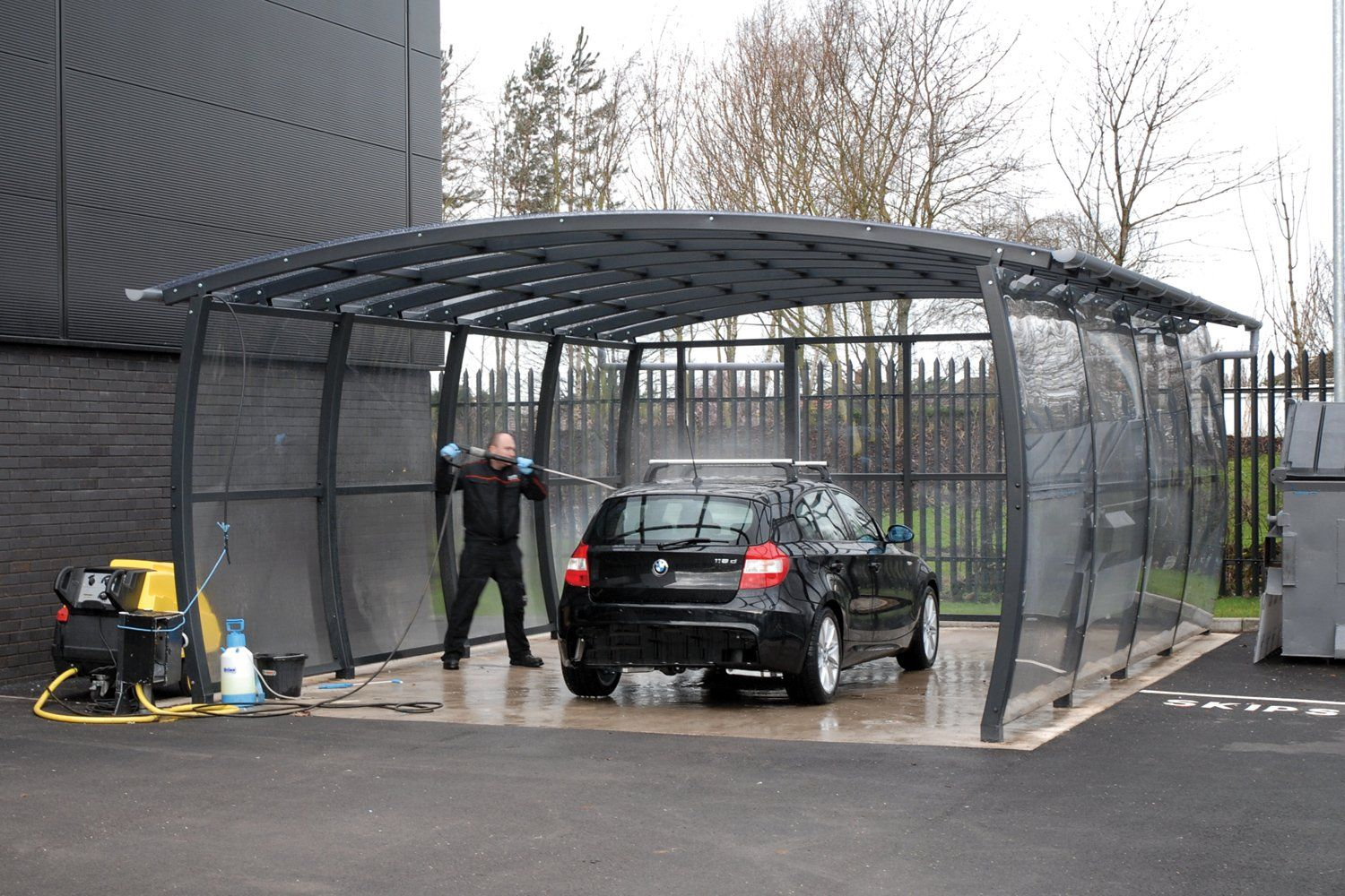 Canopy · Car Wash ... & Car Wash Canopy | Shelters u0026 Canopies | Broxap | Canopy Uses ...