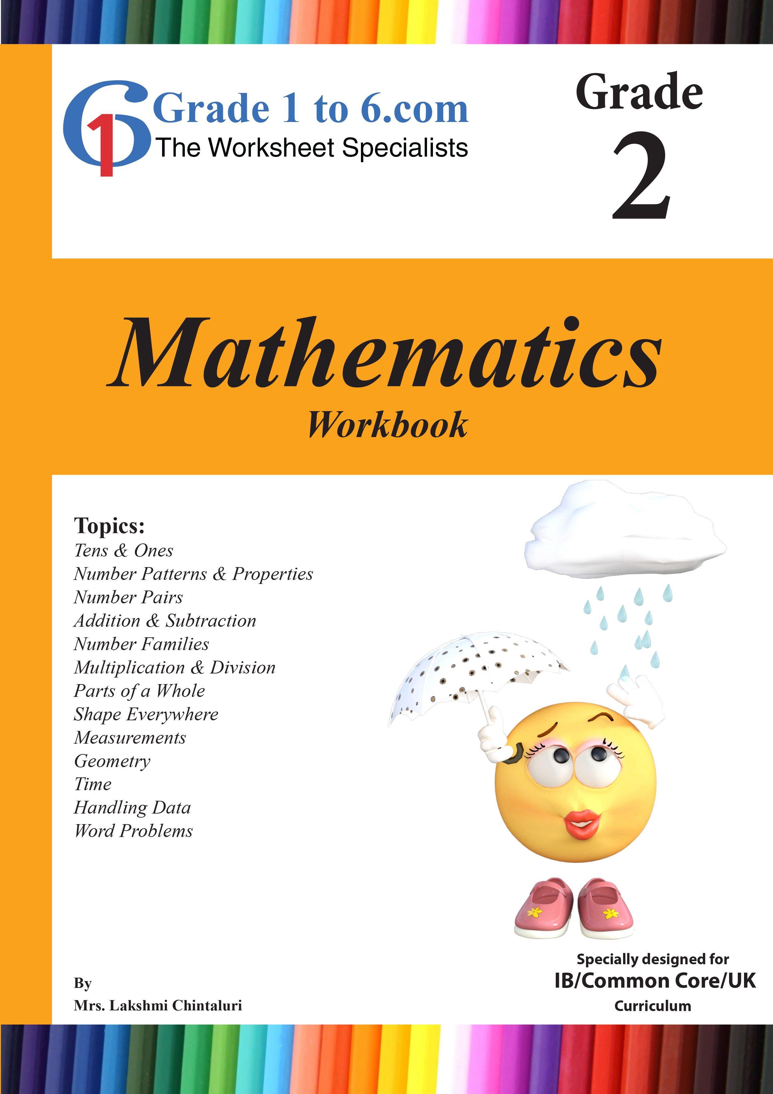 Grade 2 Maths Workbook from www.Grade1to6.com Books   Pinterest ...