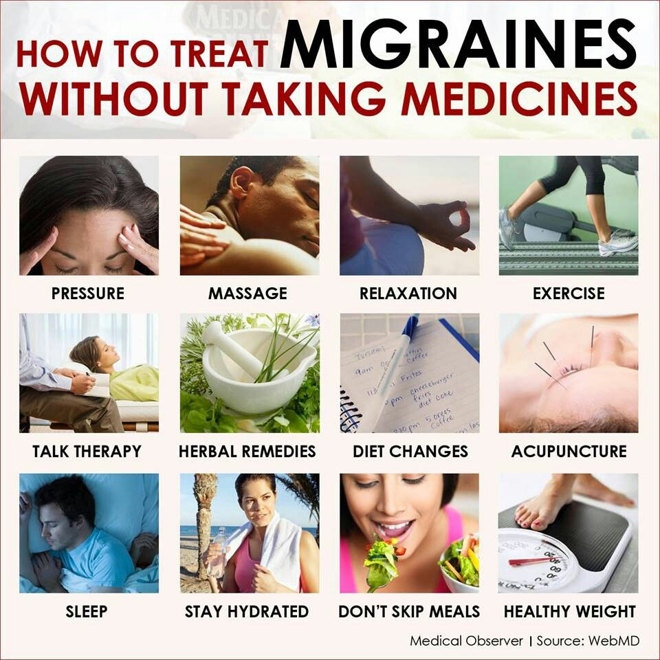 how to cure a migraine headache naturally