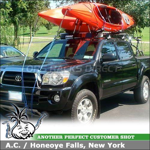 2008 toyota tacoma doublecab kayak rack