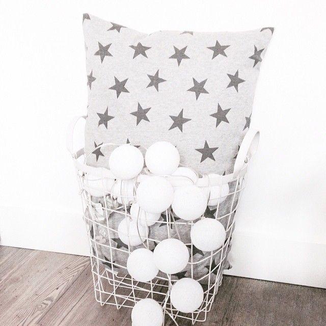 Instagram  vanPauline ☆ my home ☆ Cotton Balls Cotton Ball Lights 0385eb5f6394d