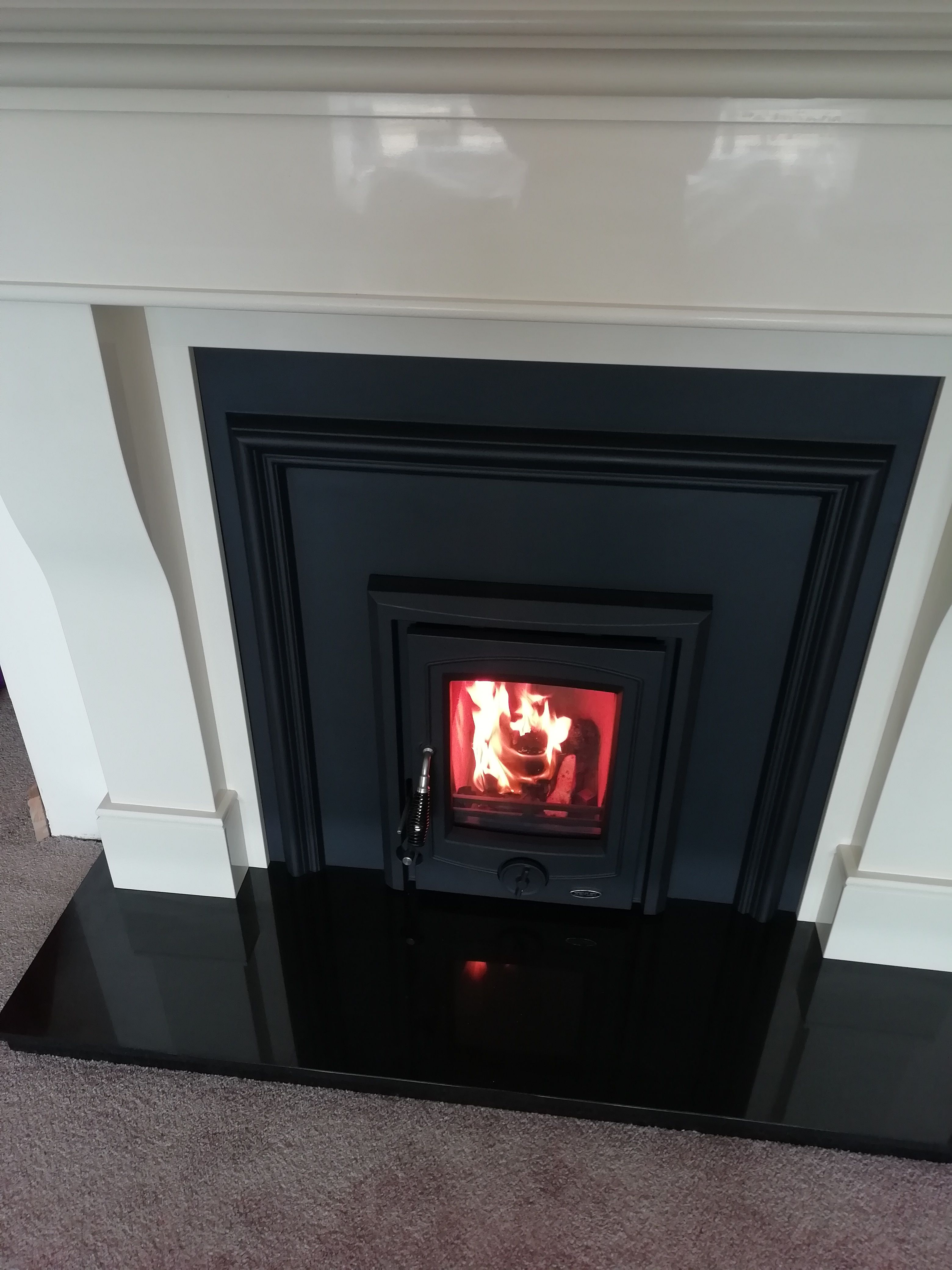 Pin By Henley Stoves On Happy Customers Multi Fuel Stove Cast