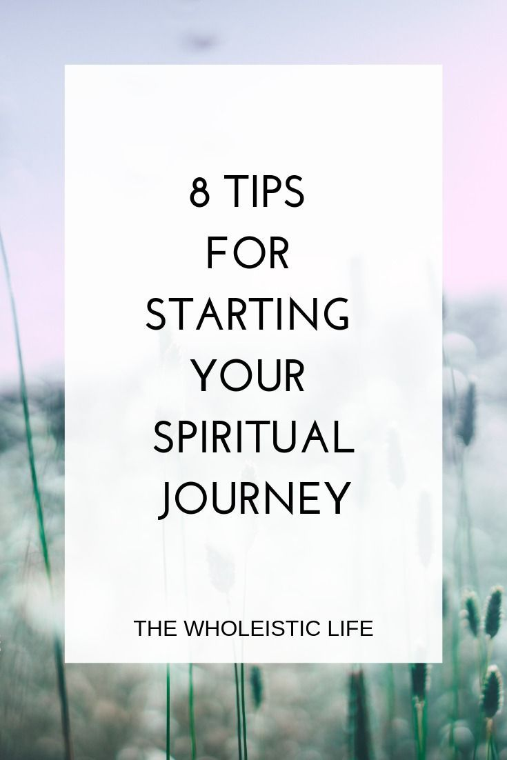 You dont have to start your spiritual journey alone 8 tips ...