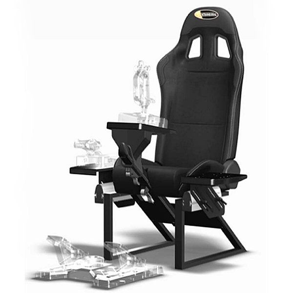Playseats 71000 Playseat Flight Seat Video Game Chair At