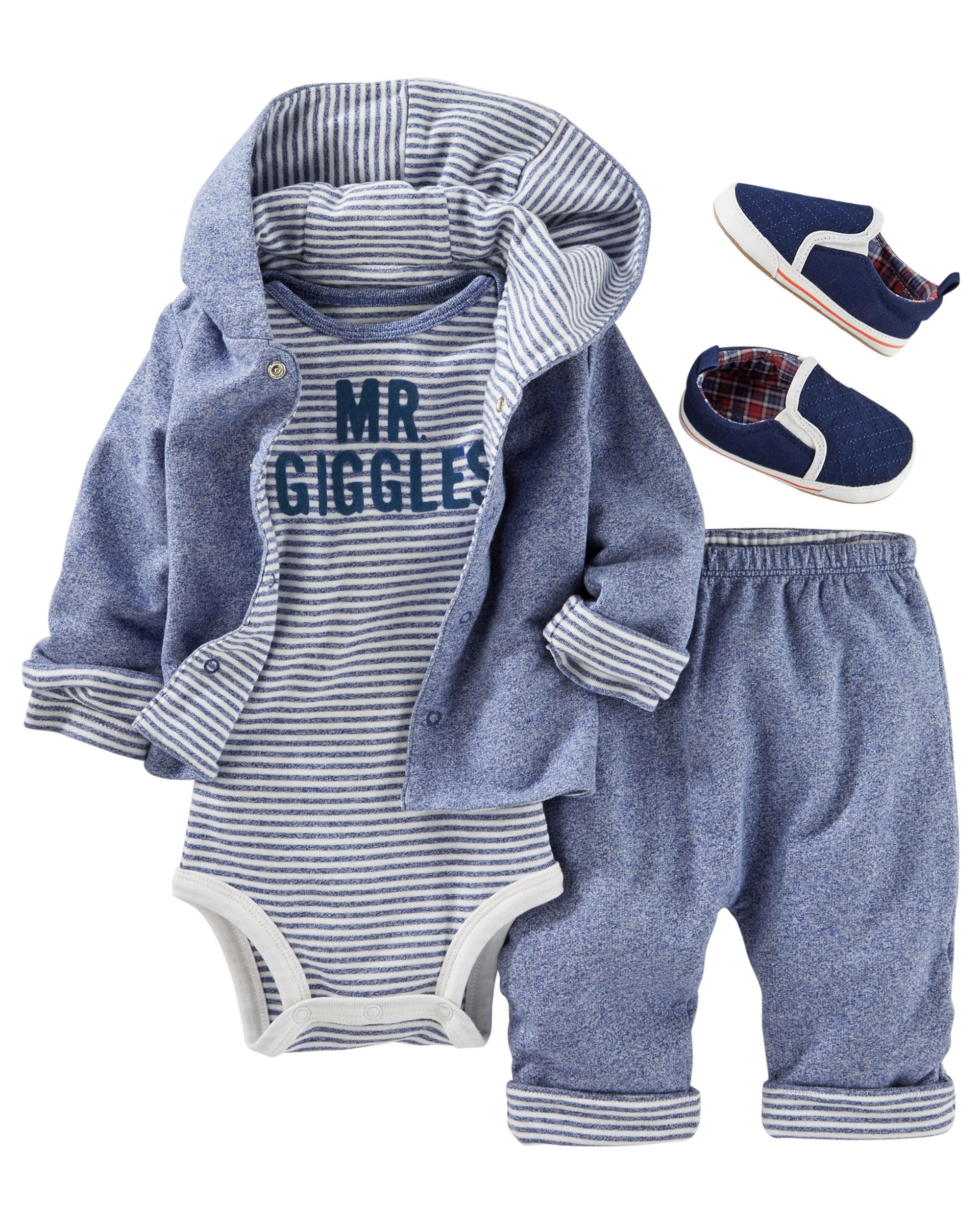ffbdb3064 Baby Boy OKS17DECBABY37 | OshKosh.com Roupas De Bebe Masculino, Roupa De  Bebe Menina