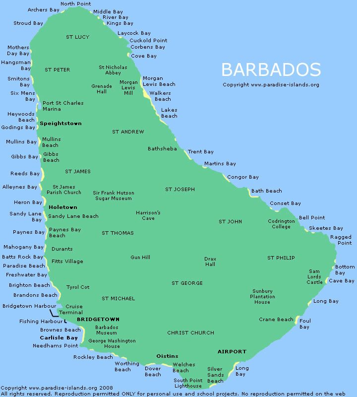 Barbados Beaches, Barbados
