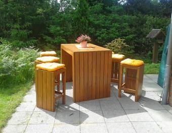 multi bar 3 in 1 garten holz m bel gartenliege sitzgruppe barhocker gartenbar garten und. Black Bedroom Furniture Sets. Home Design Ideas