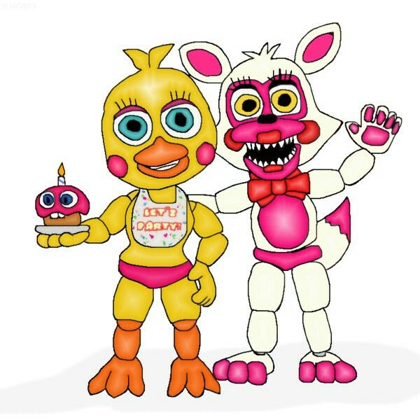 Our Friends And I Fnaf: Adventure Toy Chica And Funtime Foxy!