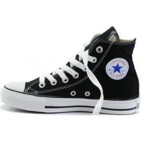 Converse Shoes Black Chuck Taylor All Star Classic Womens/Mens Canvas  Sneakers Hi Tops [