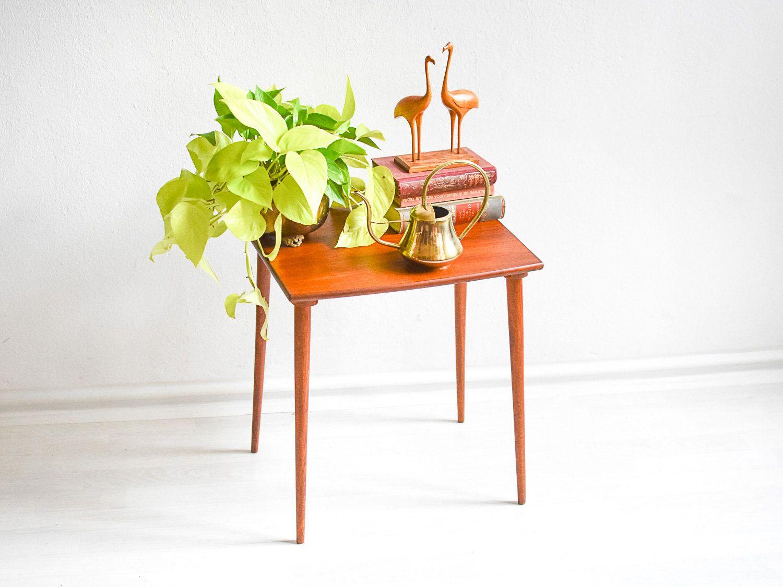 Cool Holz Beistelltisch Das Beste Von 60er Beistelltisch, Teak Tisch, Teak Couchtisch, Couchtisch,