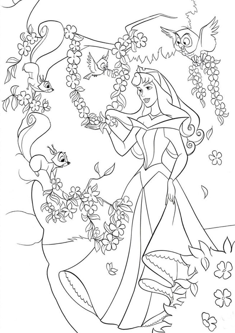Kolorowanki Spiaca Krolewna Aurora Malowanka Nr 1 Female Sketch Art Humanoid Sketch