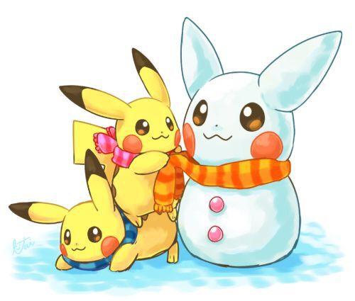 Cute Pikachu Christmas | Pikachu, Cute pikachu, Pikachu ...