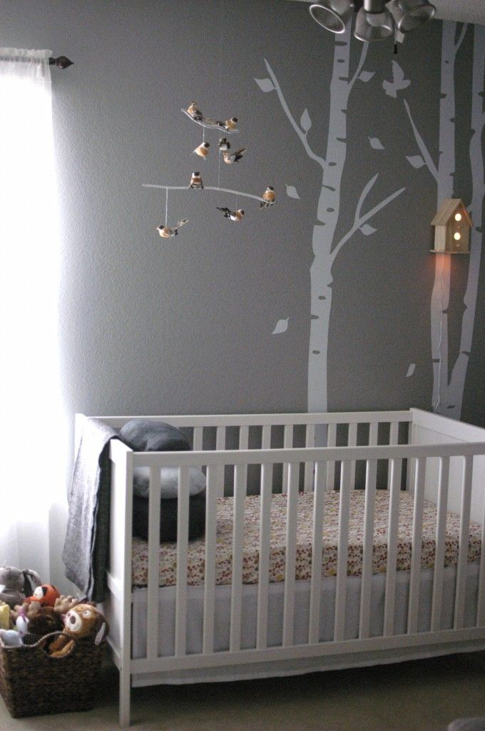 10x10 Girls Bedroom: Woodland Nursery For Baby Girl