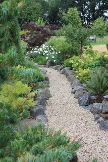 Love this idea for east side of house! Home Farm and Garden - eclectic - landscape - other metro - by Fifth Season Landscape Design & Construction
