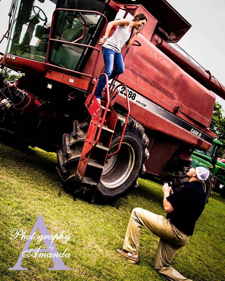Perfect farm engagement https://www.facebook.com/picturesbyamanda