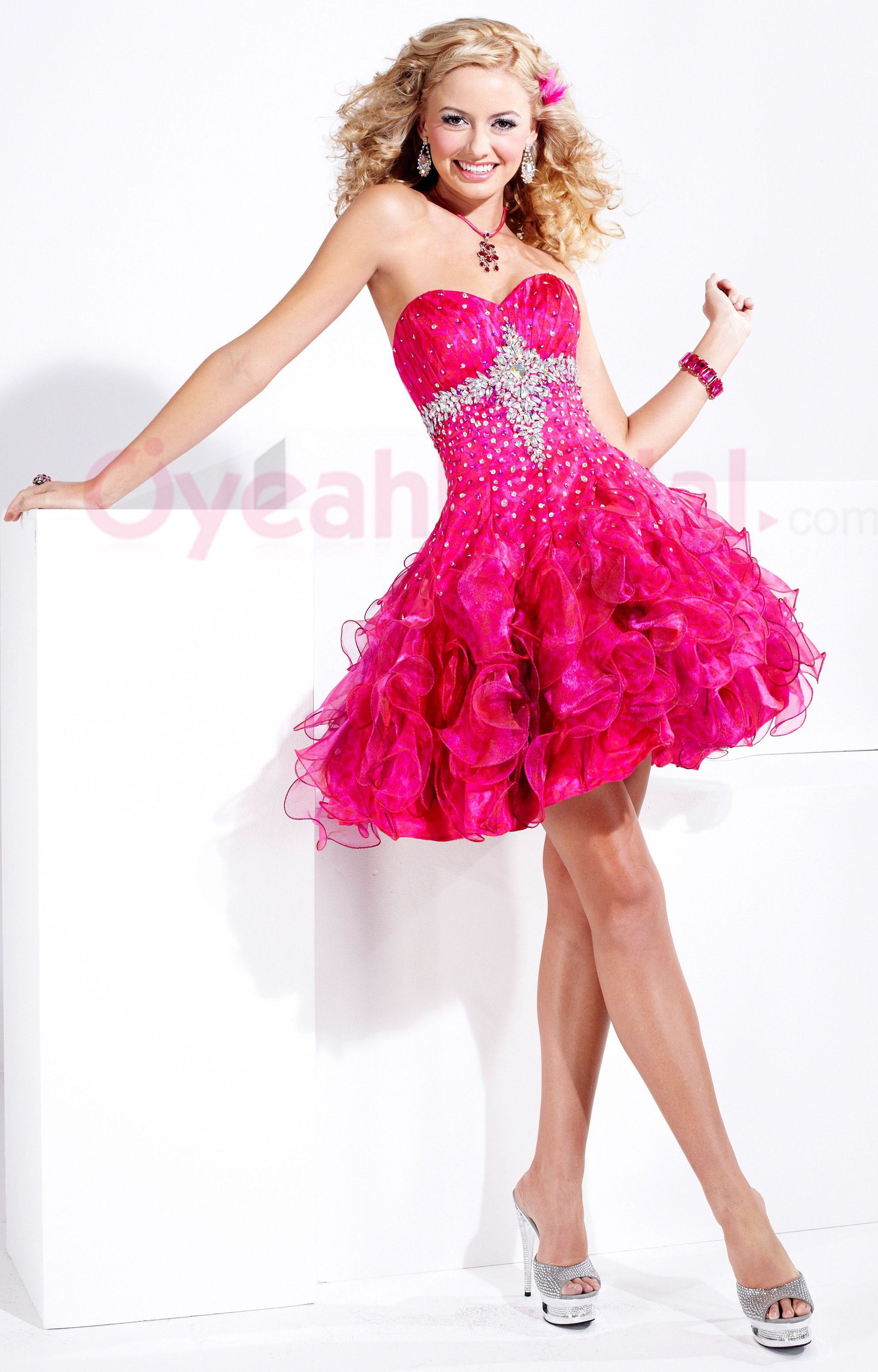 SO CUTE I LOVE THE BOW WITH THE DRESS AND IT IS PINK ...
