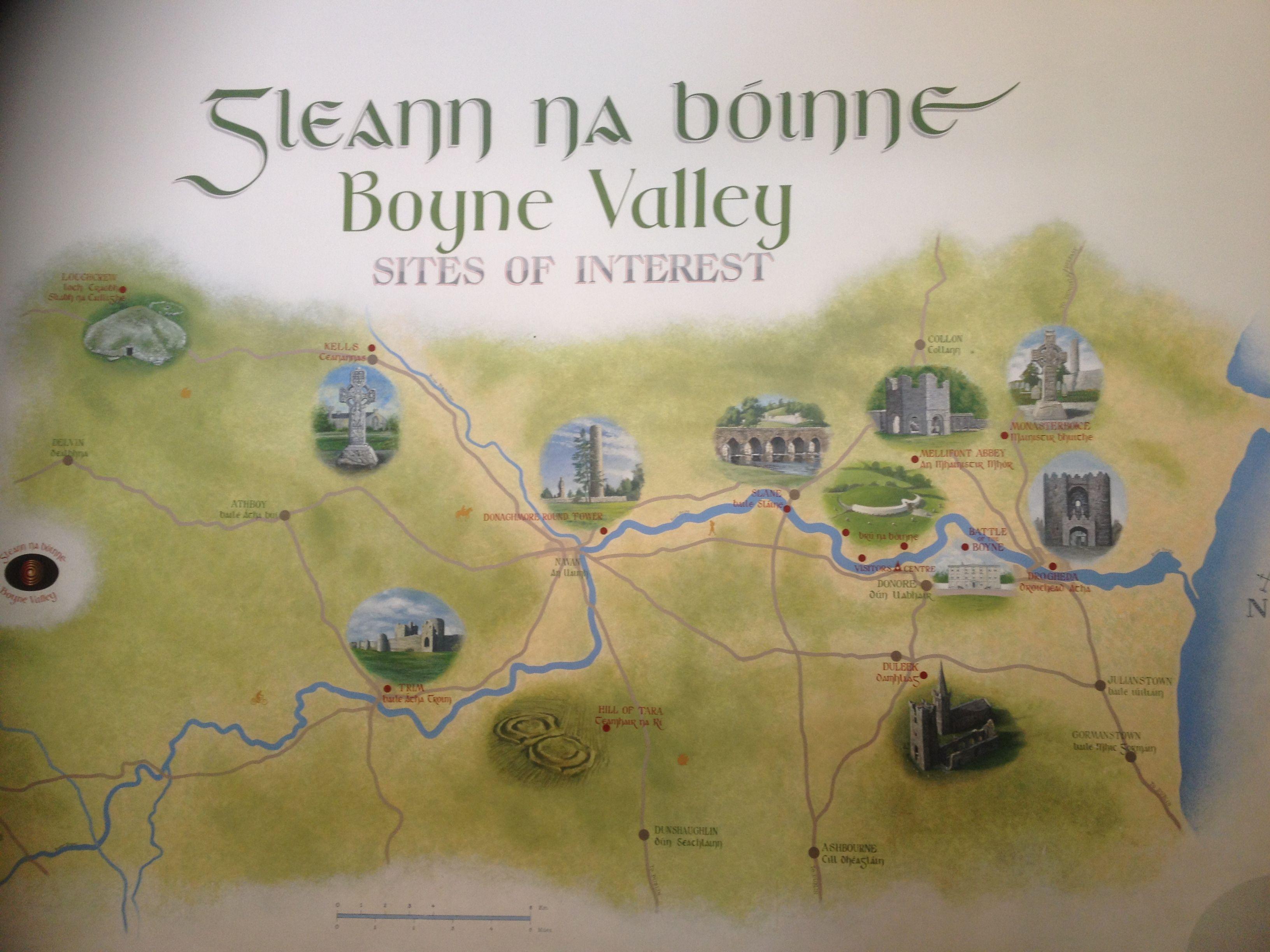 Photo Credit Celeste DunnBoyer Map of the Boyne Valley inside