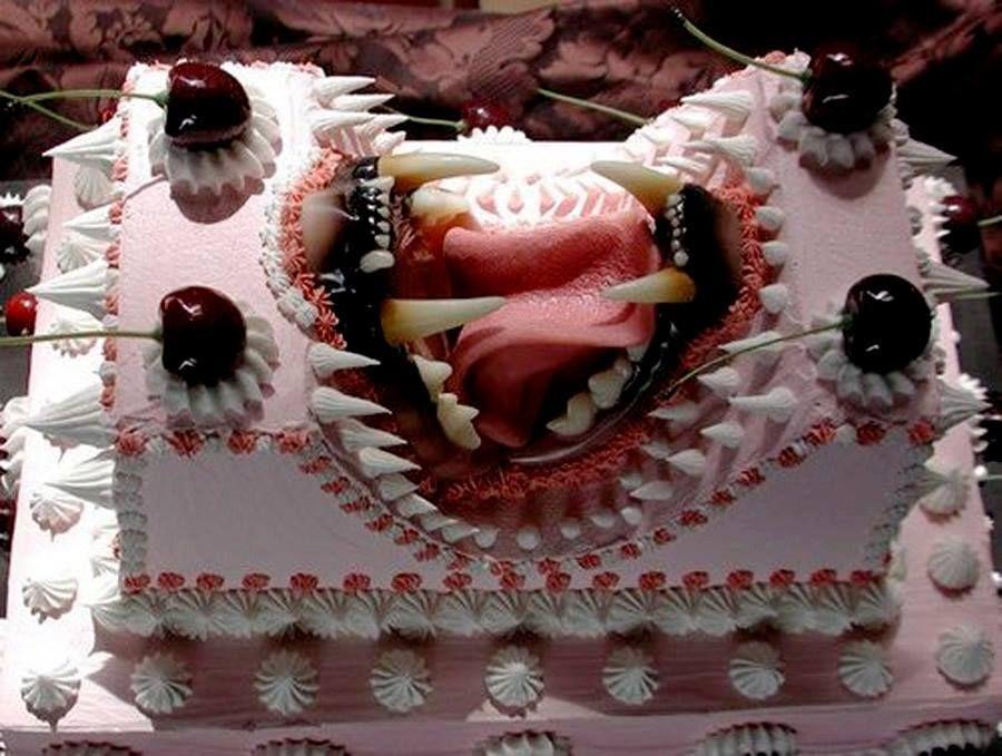 szörny torta