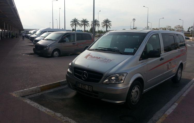 Antalya Flughafen transfer nach Lara Beach Kundu Hotels