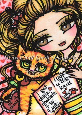 Kittys Kard - Heaven and Earth Designs