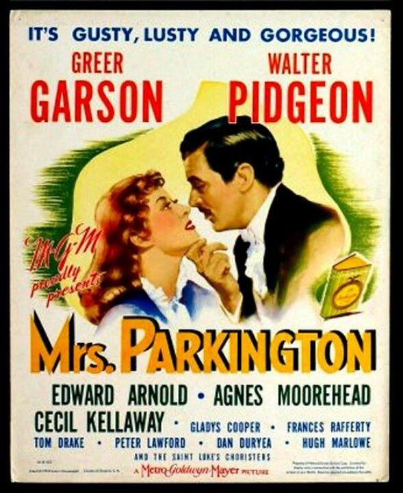 Mrs. Parkington' 1944 - Greer Garson, Walter Pidgeon, Agnes ...