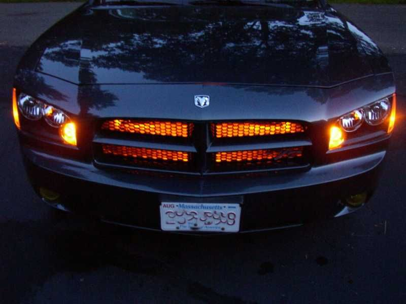 Led Grill Lights And In Engine Compartment Page 2 Dodge Charger Forums Cool Idea Poor Execution Dodge Charger Rt 2006 Dodge Charger Rt Dodge Charger