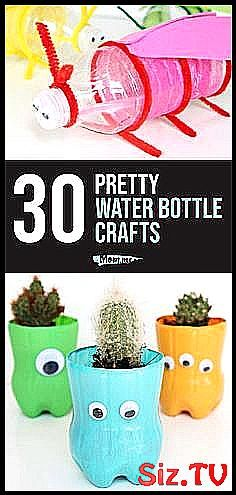 30 Pretty Water Bottle Crafts These water bottle c