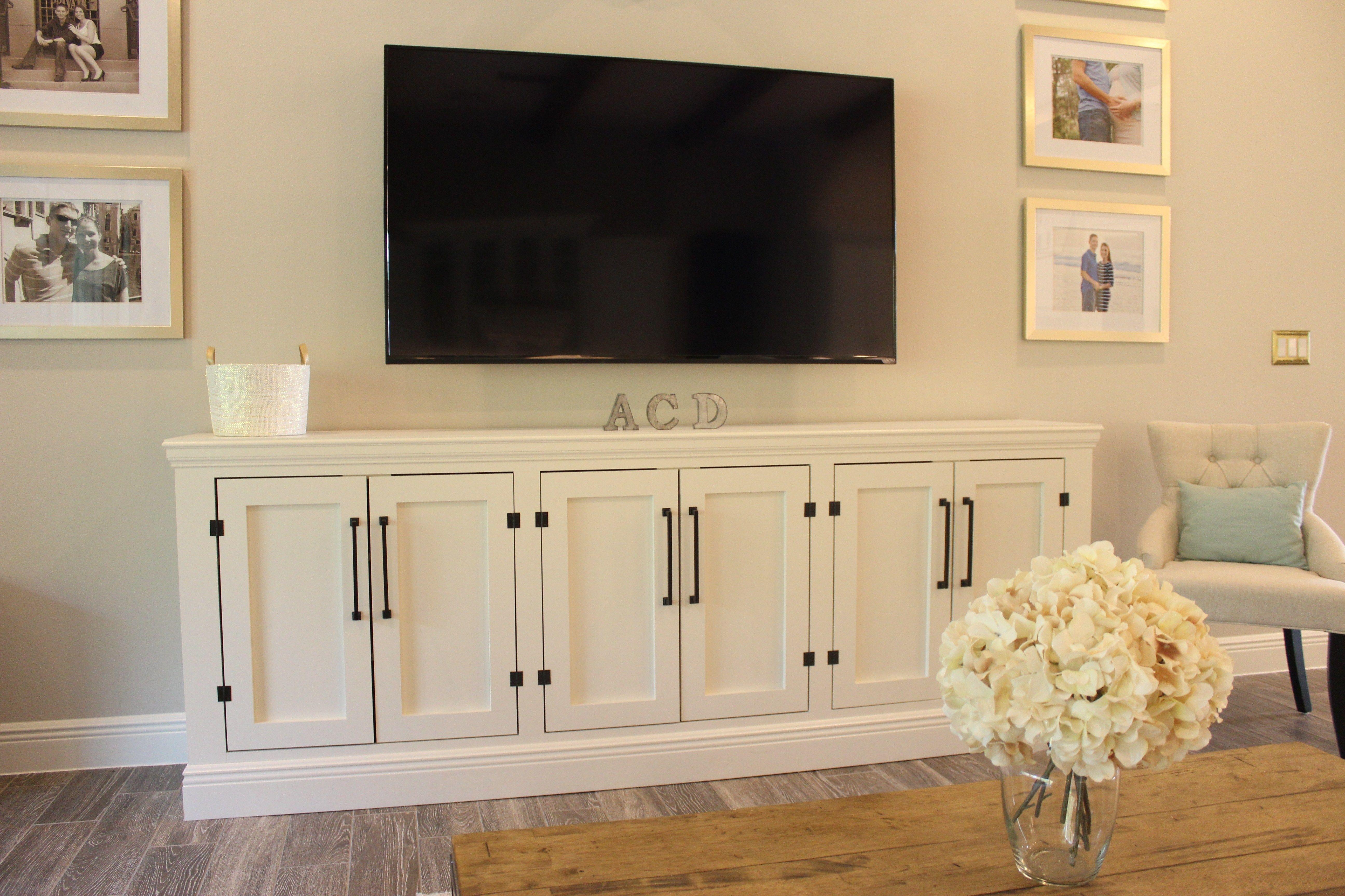 Diy Restoration Hardware Sideboard Tv Stand Tv Sideboard Living