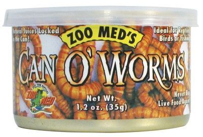 REPTILE - FOOD - CAN O' WORMS 300CT - - ZOO MED/AQUATROL, INC - UPC: 97612400427 - DEPT: REPTILE PRODUCTS