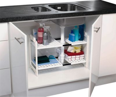 Buy addis under sink storage unit white at argos visit buy addis under sink storage unit white at argos visit argos to shop online for kitchen organisers workwithnaturefo